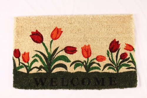 kempf-welcome-tulip-natural-coco-doormat-18-by-30-by-1-inch