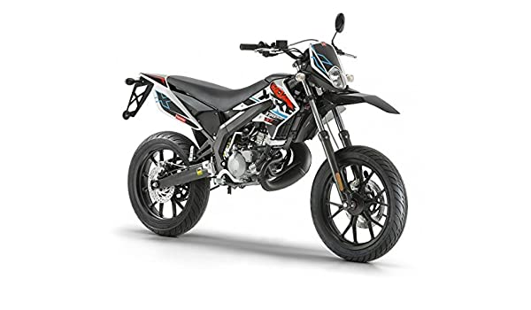 Derbi Senda Drd X-Treme 50 SM Super Moto, colores: Negro/Rojo: Amazon.es: Coche y moto