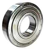 ORS 6202 ZZ C3 Deep Groove Ball Bearing, Single Row, Double Shielded, Steel Cage, C3 Clearance, ABEC 1 Precision, 15mm Bore, 35mm OD, 11mm Width