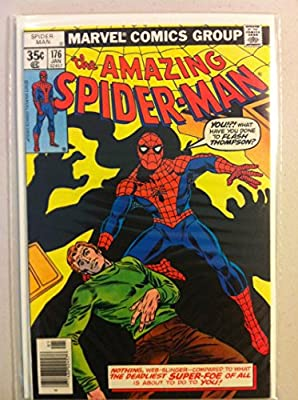 Spiderman #176 Green Goblin (app) Jan 78 NO MAILING LABEL