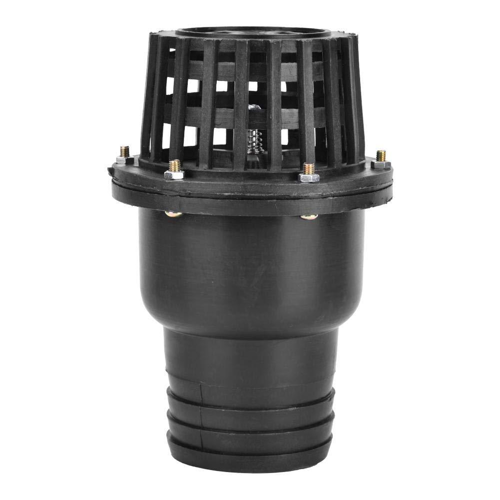 Water Valve Black PVC Low Pressure Flat Check Valve for Fluid Machine,1.5 Inch 2 Inch 2.5 Inch 3Inch 4 Inch Optional 3in