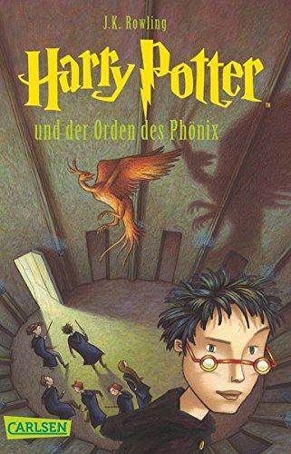 Harry Potter und der Orden des Phönix (Harry Potter 5) Taschenbuch – 11. Februar 2009 J.K. Rowling Klaus Fritz Carlsen 3551354057