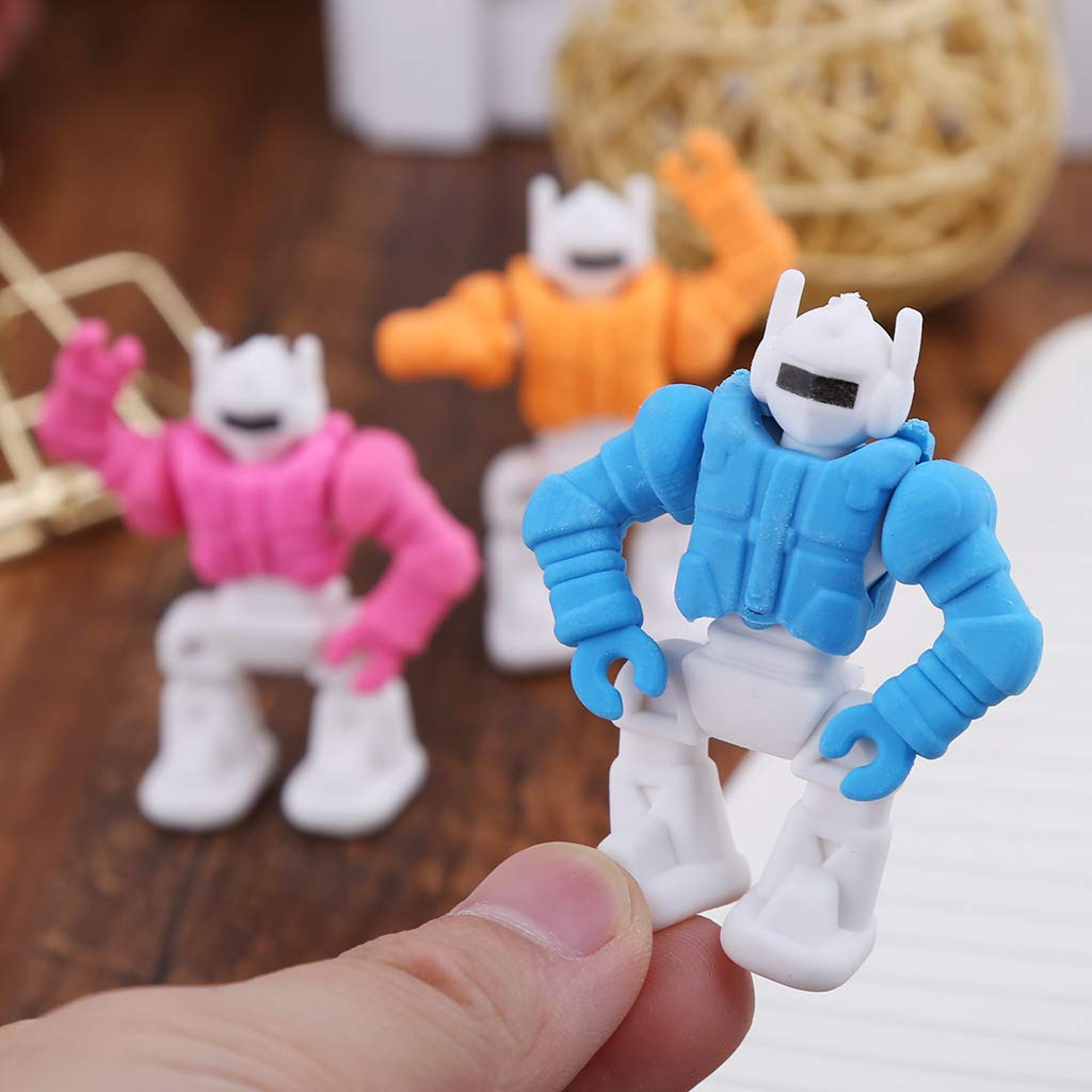Yinuneronsty Robots Extraíbles Creativos Goma De Goma Lápiz ...