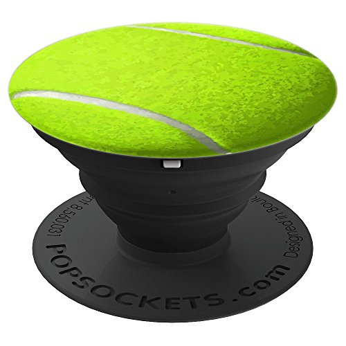 Tennis Ball - PopSockets Grip and Stand for Phones and Tablets by Tennis Racket Ball gifts