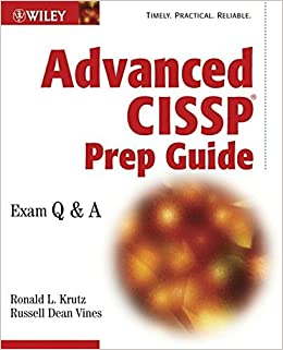 Advanced CISSP Prep Guide: Exam Q&A by Ronald L. Krutz (2002-10-11)