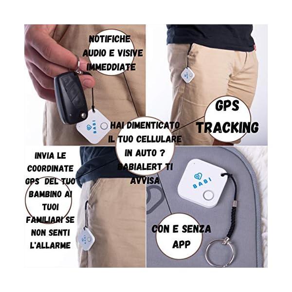 Babi Alert il portachiavi intelligente per dispositivo anti abbandono seggiolino auto Babi by CappyToppy Monitoraggio… 2