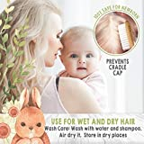 Baby Hair Brush and Comb Set for Newborn - Natural