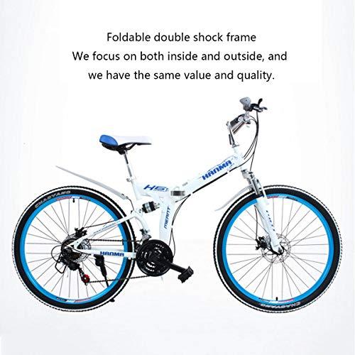 (Dapang Mountain Bike,26'' Wheel Lightweight Steel Frame 21 Speeds Shimano Disc Brake,Black,24