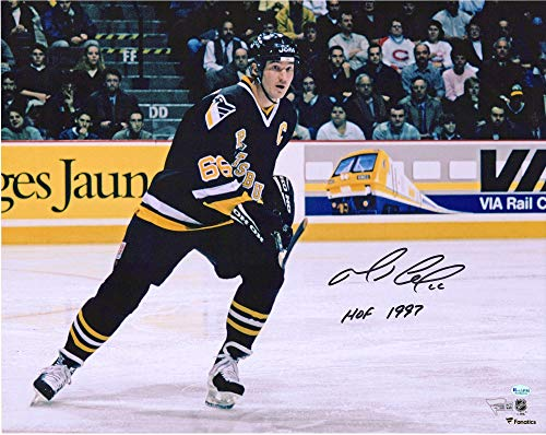Mario Lemieux Pittsburgh Penguins Autographed 16