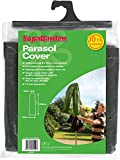 Waterproof Garden Parasol Cover SupaGarden Outdoor Parasol Cover Zip Fastener