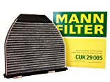 Mann Filter (CUK 29 005) Carbon Activated Cabin Air Filter