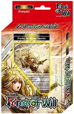 Force of Will-Juego De cartas en francés-Starters-Juego De arranque, La reina sagrada Faria: Amazon.es: Juguetes y juegos