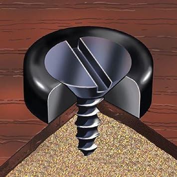 Tornillos y embellecedor de plástico negro M2, 5 tipo 1 10 pcs: Amazon.es: Electrónica