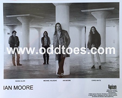 (oddtoes concert posters and music memorabilia Ian Moore Promotional Photograph - Capricorn Records - Original)