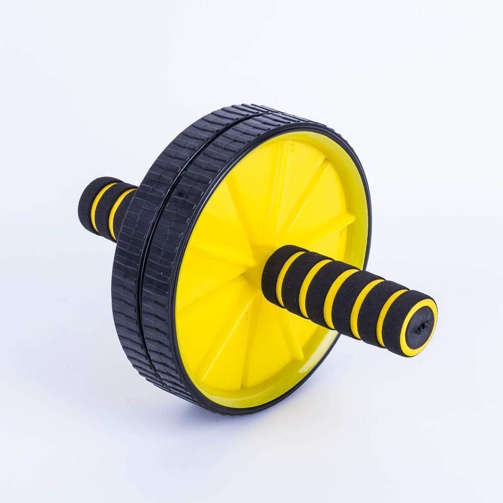 Olydmsky Wheel Bauchtrainer Bauch-Fett Körper-Bauch Rad, Abdominal-Gewicht und Bauch-Bauch