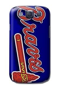 Designed Samsung Galaxy S3 Hard Case With Atlanta Braves Pattern