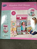 Jupiter Workshops 18'' Doll House with Furniture Playset