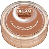 Maybelline New York Dream Smooth Mousse Foundation, Caramel, 0.49 Oz, 2 Ea