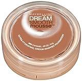 Maybelline New York Dream Smooth Mousse Foundation, Caramel, 0.49 Oz, 2 Ea