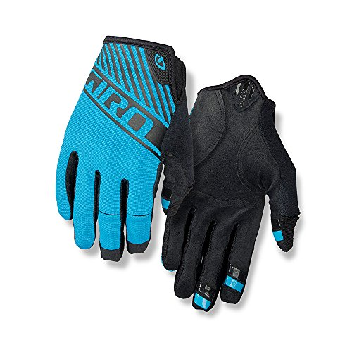 Plastic Mens Glove (Giro DND Bike Glove - Men's Blue Jewel Large)