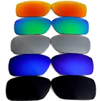 Galaxy Replacement lenses For Oakley Fuel Cell Polarized Black/Blue/Green/Titanium/Red 100% UVAB