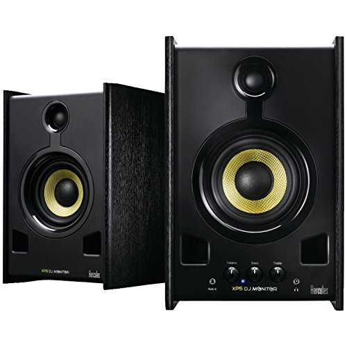 Hercules DJ XPS 2.0 80 DJ Monitor Speakers (Black) by Hercules
