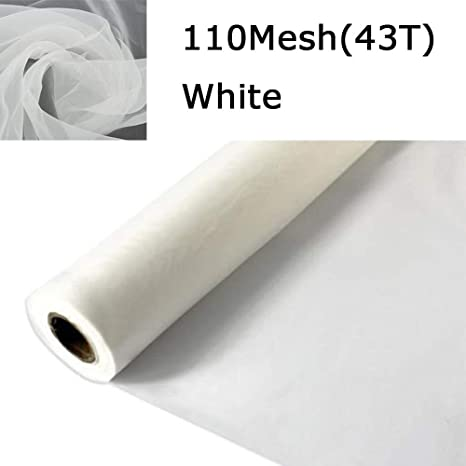 2 Yards 140mesh High Quality And Low Price Silk Screen Mesh Screen Printing Mesh