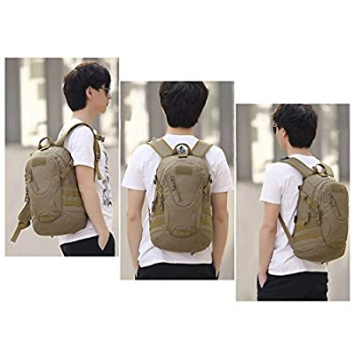 Hisea Lightweight Durable Hiking Backpack Travel Backpack 15L/25L