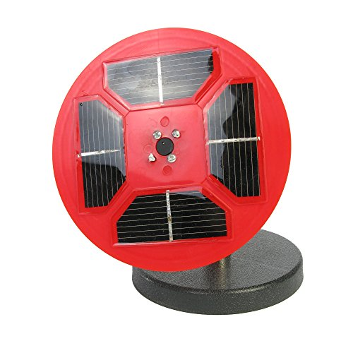 AMEP AEP718492 Solar Cell Demonstrator, Red/Black by AMEP