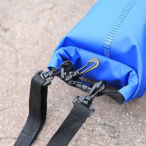 Roll Top Sack Keeps Gear Dry for Rafting Boating Camping Hiking Upgraded Waterproof Dry Bag Storage Bags 10L Fishing Blue