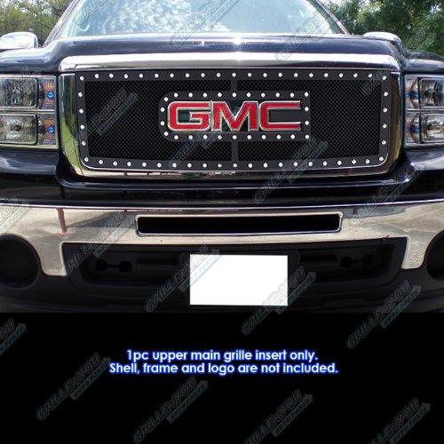 - APS 07-2012 GMC Sierra 1500/07-2010 Sierra Denali New Body Rivet Mesh Grille Grill