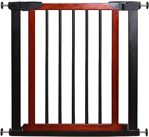 WCX Barrera Extensible Perros Barreras para Puertas Y Escaleras Madera Maciza Retráctil Puertas Seguridad Bebe para Perros Mascotas Pequeño Y Mediano (Size : 75cm): Amazon.es: Hogar