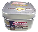 Coleman Smores Scented Citronella Candle, Crackle Wick