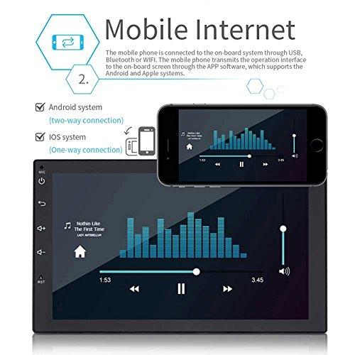 REFURBISHHOUSE MP5 Universal Android de 7 Pulgadas Reproductor Coche telefono Inteligente navegador: Amazon.es: Coche y moto