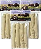 (3 Pack) Tasman's Bison Twisters, Medium, 4 Twists each Review
