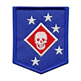 LEGEEON USMC Raiders Marines MARSOC Morale Tactical Embroidery Sew Iron on Patch