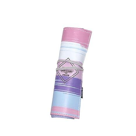 Amazon.com: WEIMAY Pencil Pen Case Art Pen Roll Up Pouch ...