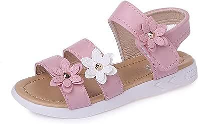Sandalia Niña Sandalias de Vestir para Nina Zapatos Verano Niña Sandalias Cuero Piel Niña