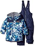 Wippette Baby Boys and Toddler Insulated Snowsuit, Camouflage Navy, 2T