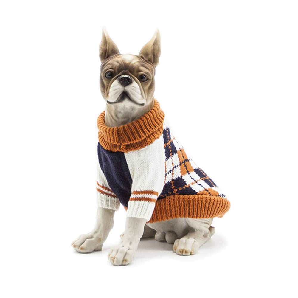 Amazon.com : BingYELH Puppy Dog Cat Knitted Sweater Pet Designer Dog Cat Soft Crochet Knit Sweatershirt Pullover Jumper for Pets : Pet Supplies