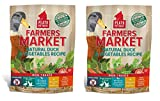PLATO Dog Treats -Farmers Market Natural Duck and Vegatables Real Strips- 14 oz (2 Pack)