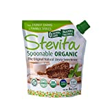 Stevita Organic Spoonable Stevia Pouch - 8 Ounces - All Natural Stevia Extract, Natural Sweetener - USDA Organic, Non GMO, Vegan, Kosher, Keto, Paleo, Gluten-Free - 227 Servings