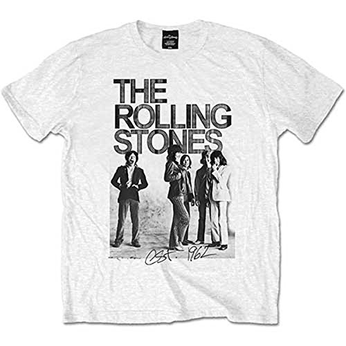 The Rolling Stones 1962 Band Mick Jagger Rock Official Tee T-Shirt Mens Unisex - Mick Band Jagger