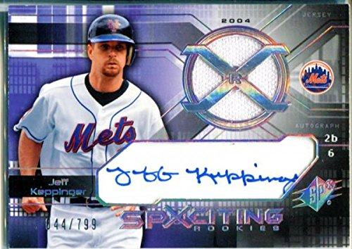Jeff Keppinger Autographed 2004 Upper Deck SpXciting Rook...