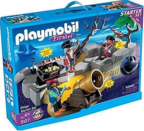 Playset Treasure Chest Pirate - Playmobil - Pirate Starter Set #3127