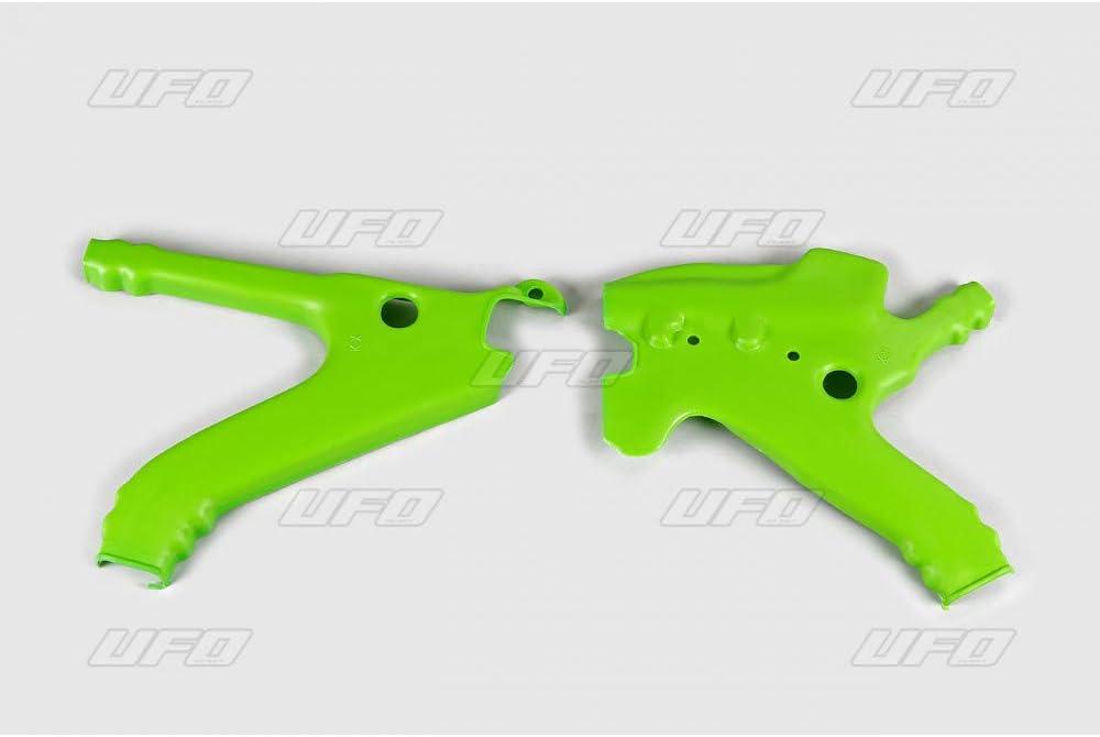 Motodak prot/ège Cadre UFO Vert Kawasaki kx