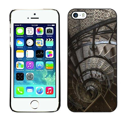 Premio Sottile Slim Cassa Custodia Case Cover Shell // F00029696 Escalier de phare // Apple iPhone 5 5S 5G