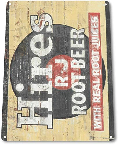 (TIN Sign Hires Root Beer Retro Metal Decor Soda Cola Shop Store Kitchen A086 Tin Sign 7.8inch11.8inch)