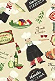 bistro chef kitchen mat - Bistro Chef Indoor/Outdoor Flannel Backed Vinyl Tablecloth - 60