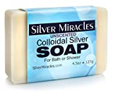 Colloidal Silver Soap, 2 1/2' x 31/2' x 1'